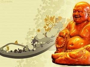 Conoce el Buda de la Riqueza y la Alegría
