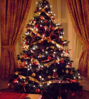 árbol de navidad feng shui