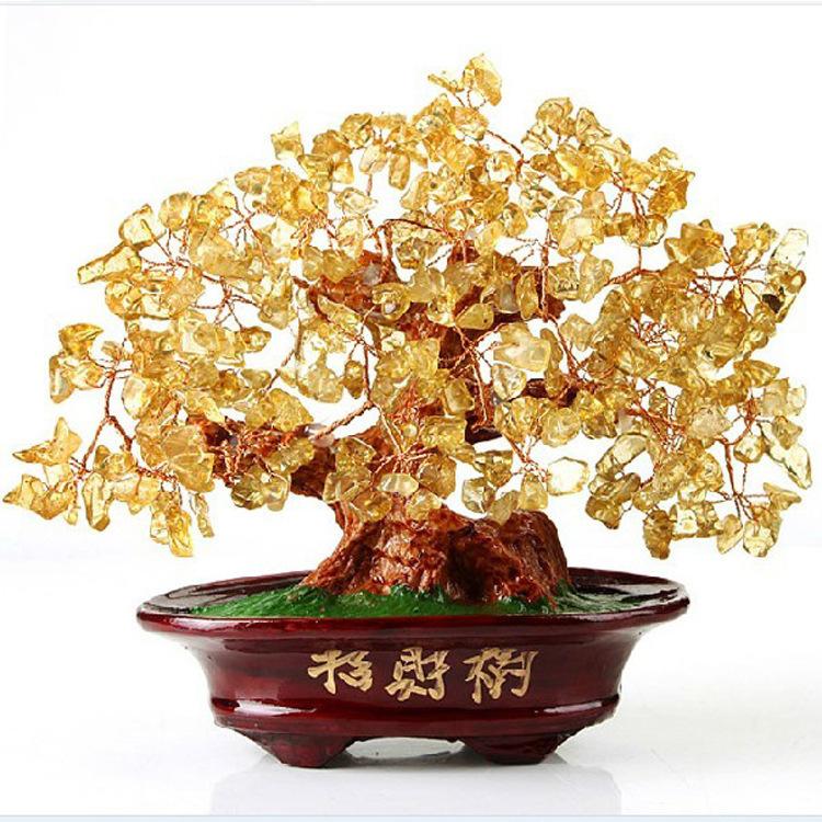 Árbol de Gemas Feng Shui para la Buena Suerte